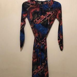 Vertigo Fitted Dress XS